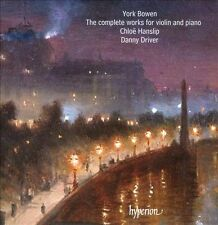 York Bowen: The Complete Works for Violin and Piano (CD, 2013, 2 Discs) new