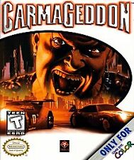 Carmageddon (Nintendo Game Boy Color, 2000) GAME ONLY-GREAT SHAPE