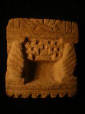 Sanctuaire votif , Niche en pierre , Rajasthan. Désert du Thar ..... ( s2)