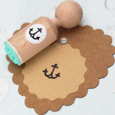 Anchor Rubber Stamp Round-très mini-Craft/Scrapbooking