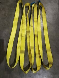 4x1000Kg Endless Polyester Webbing LiftingRound Sling 1.85 mtr