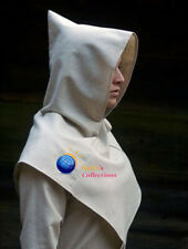 MEDIEVAL PLANE HOOD GAMBESON COTTON ARMOR THICK PADDED SCA LARP