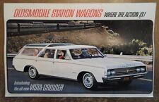 OLDSMOBILE STATION WAGONS orig 1964 USA Mkt Sales Brochure - Vista Cruiser F-85