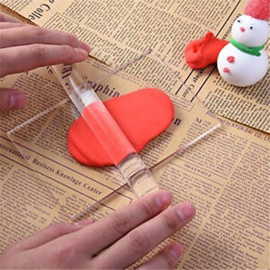 Solid Clay Rolling Pin Acrylic Clay Roller DIY Modelling Tools Sculpey Poly.bl