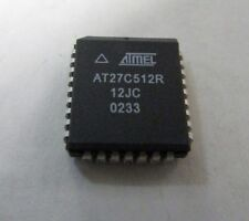 ATMEL AT27C512R-12JC IC Integrated Circuit EPROM - Lot of 10 Pieces NEW NOS