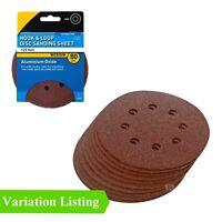 Hook and Loop 125mm Sanding Discs 80 Grit Palm Orbital Sandpaper Pads