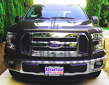 2016-2017 Ford F150 chrome grille grill insert overlay trim XL only
