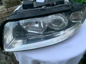 Audi A4 B6 2001-2005 Head lamp N/S 8E0941003G Genuine Audi/VW used VGC  Bargain