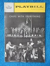 Chips With Everything - Plymouth Theatre Playbill - October 7th, 1963