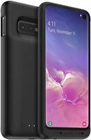 mophie Juice Pack 2,000mAh Battery Case Qi Wireless for Samsung Galaxy S10 Black
