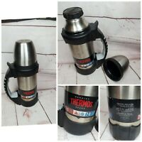 Thermos Brand Stainless Steel Vacuum Insulated Double Wall Beverage Bottle