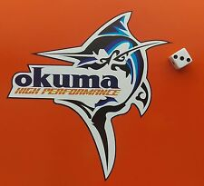 OKUMA MARLIN Adesivo Decalcomania Da Pesca/Tacklebox/Barca/Kayak/Auto/Furgone