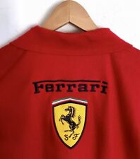 Scuderia Ferrari F1 Racing Shell Polo Essential Classic Red Embroidered Logo XXL