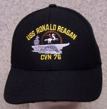 Embroidered Baseball Cap Military Navy USS Ronald Reagan NEW 1 hat size fits all