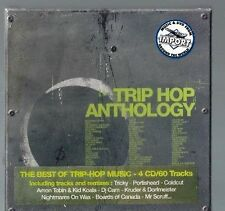 Trip Hop Anthology by Various Artists (Wagram Records (France))4 CD SET-NEW