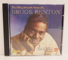 The Silky Tunes of Brook Benton 2 CD set FREE SHIPPING!!