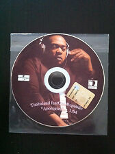 TIMBALAND Apologize feat ONE REPUBLIC cd rare promo ITALY Universal NEAR MINT