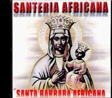 MUSICA SANTERA, SANTERIA AFRICANA - SANTA BARBARA -CD