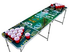 Oakland A's Athletics Beer Pong Table  with holes.