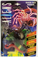ALIENS : QUEEN FACE HUGGER CARDED ACTION FIGURE & COLLECTORS CARD (F)