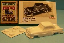 SMC-640 1952 Ford Sedan 4-Door  HO-1/87th Scale White Resin Kit (unfinished)