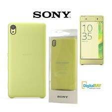 CUSTODIA ORIGINALE SONY COVER CASE BACK SBC26 LIME GOLD STYLE PER XPERIA XA