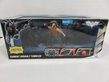 Dark Knight Rises COMBAT ASSAULT TUMBLER Set- w/ Bane & Batman Walmart Ex ZQ