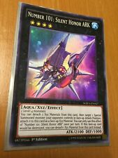 YUGIOH Number 101: Silent Honor ARK WIRA-EN047 1st edition Super Rare MINT