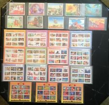 *LOT OF 25* DISNEY COLLECTORS STAMPS Animal Stories Classic Fairy Tales ASSORTED