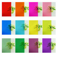Colored Window Glass Film Heat Insulation Film Sticker Privacy Self Adhesive Dec