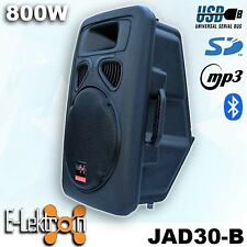 12 inch 30CM 800W Active Speaker Loud Digital Sound System PA SD/USB & Bluetooth