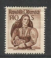 Austria 1948-52 Local Costumes 1.40s brown--Attractive Topical (541) MH