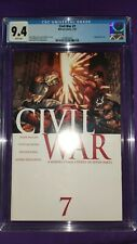 Marvel Civil War #7 CGC 9.4  Captain America Iron Man Mark Millar Steve McNiven