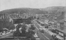 Tram Mostyn Street Llandudno North Wales 1910s Photochrom postcard
