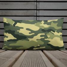 Green Camo Premium Pillow