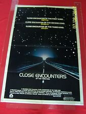 1977 Orig. Close Encounters Of The Third Kind Os Movie Poster 27x41 inches.