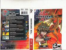 Bakugan:Battle Brawlers:vol 1-2007/14-TV Series Canada-5 Episodes-DVD
