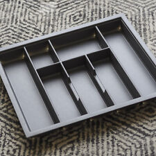 600mm Charcoal Cutlery Tray for Grass Scala Drawer