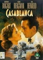 CASABLANCA HUMPHERY BOGART INGRID BERGMAN WARNER UK REGION 2 DVD NEW & SEALED