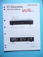 Manuel de reparation pour Kenwood kt-3050, original