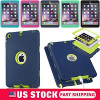 For Apple iPad 234 Mini 234 Air1/2 Pro9.7 Shockproof Armor Heavy Duty Case Cover
