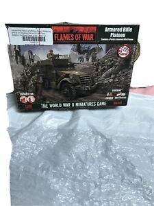 Flames of War Armored Rifle Platoon UBX41, 15mm, World War 2