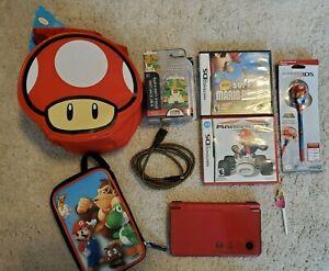 Nintendo DSI XL super Mario bros 25th anniversary bundle