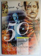 "2004  Italia  Folder  ""Puccini ,La Fanciulla del West """