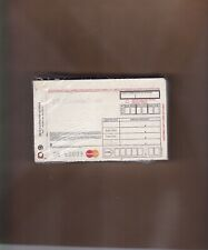100 SHORT 3 PART Credit Card Manual Imprinter Sales Slip Paper Forms MASTERCARD