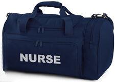 NURSE Branded Navy Holdall/Work Bag Paramedic Ambulance St John - 2 Free Pens