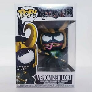 Marvel Venom Venomized Loki #368 - Funko Pop Vinyl Free Postage + Pop Protector