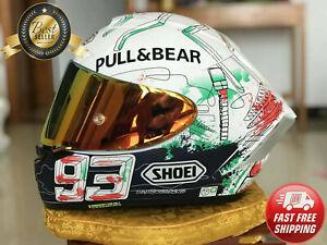 MOTORCYCLE FULL FACE HELMET X14 SPIRIT 3 MOTO GP 93 MARC MARQUEZ PAINTING