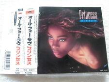Princess / All For Love / JAPAN CD With/OBI / Polydor – P33P-20142 / 1987