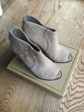 Boots neuves ASH Lynx Bis velours taupe taille 37